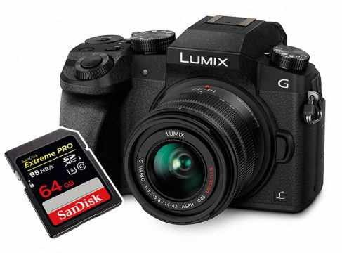 panasonic g7 best sd cards