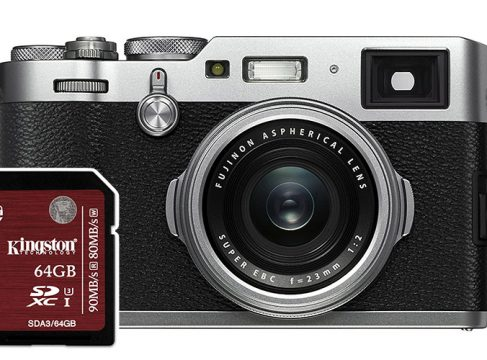 fuji x100f best sd cards