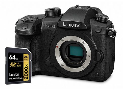 panasonic gh5 sd cards