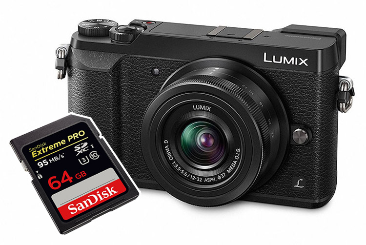 panasonic gx85 best sd cards