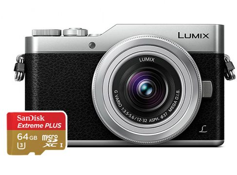 panasonic gx850 sd cards