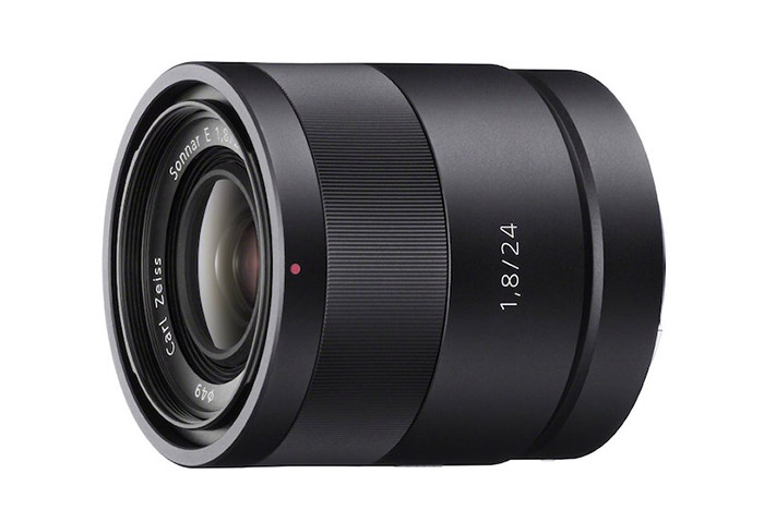 sony zeiss 24mm prime lens