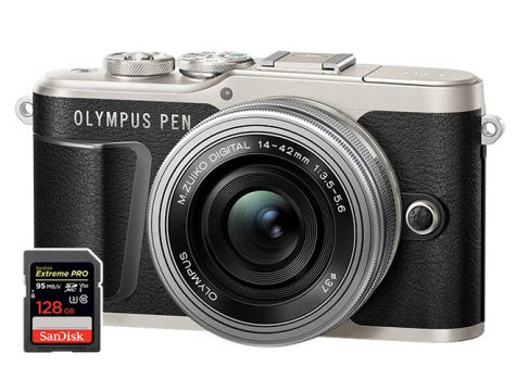 olympus pen epl9 sd cards