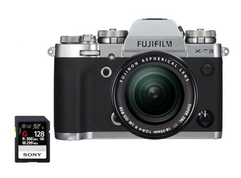 best fuji x-t3 sd cards