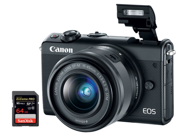 best canon m100 sd cards
