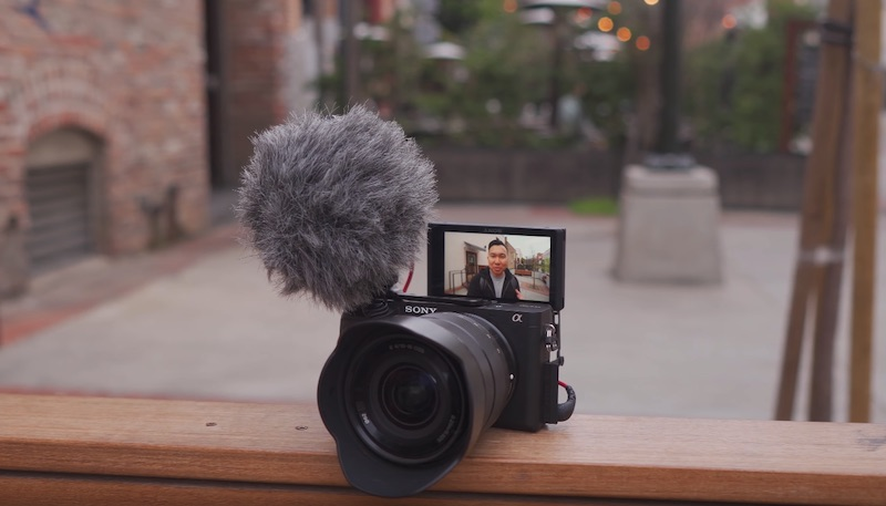 sony a6400 microphone relocation plate vlogging