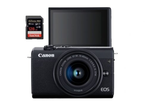 best sd cards canon eos m200