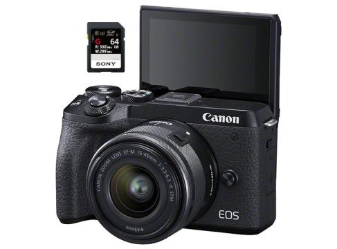 best sd cards canon m6 mark ii