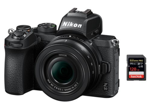 best sd cards nikon z50