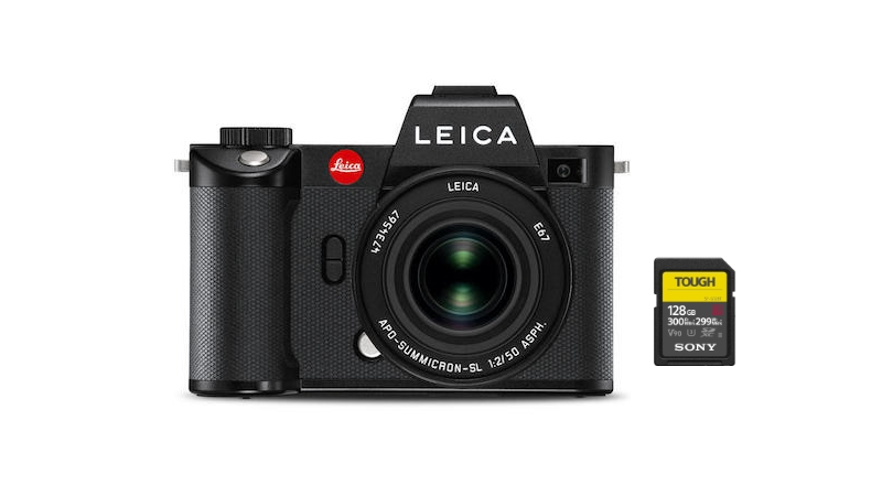 best sd cards leica sl2