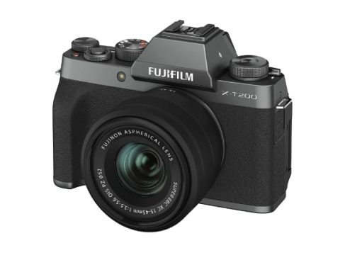 fuji x-t200 entry level mirrorless camera
