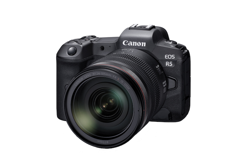 canon announces development eos r5
