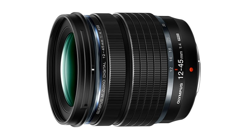 olympus announces 12-45mm f4 pro