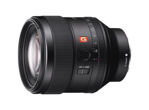 gm 85mm best portrait lens sony fe