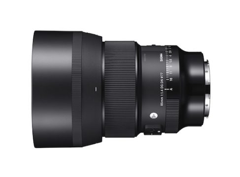 sigma 85mm art mirorrless e-mount lens