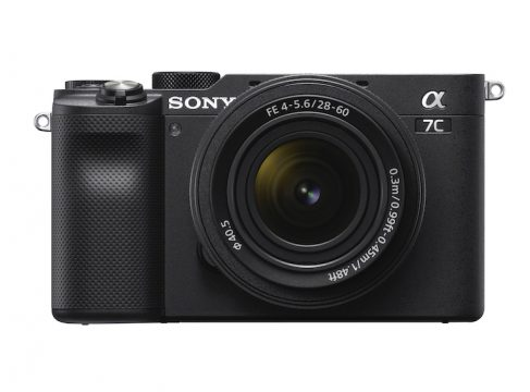sony a7c front